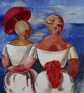 Jekabs Kazaks, 'Two Women at the Seaside'